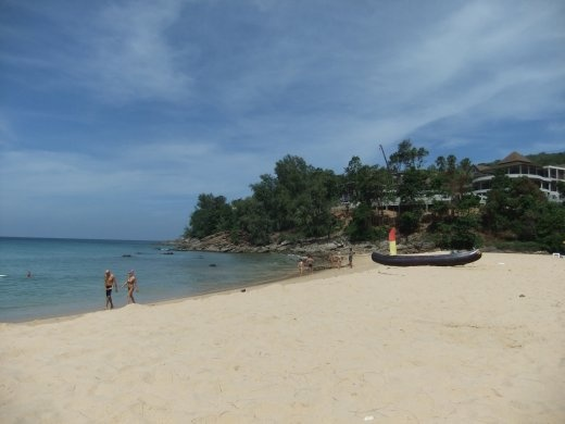 Naithon Beach on Phuket has been invaded by Russians, but it is still one of the nicest and quietest beaches on the island.