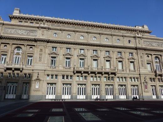 Teatro Colon opera house - a bit like Buxton's!