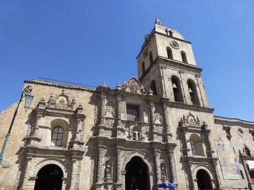 La Paz cathederal.