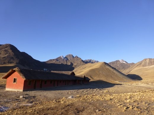 Even better, at Ajwani we got to camp in a refugio.