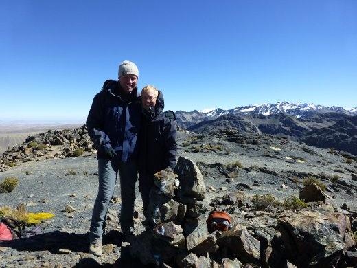 Day 3 saw us bag a 5000m peak that wasn't part of th plan.