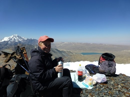Lunch at 5,300m.