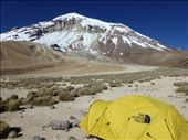 We thought we were on a real expedition with a bright yellow North Face tent!: by steve_and_emma, Views[173]