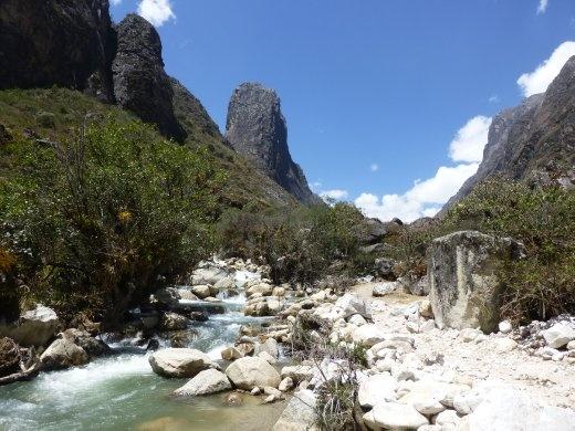 The first part follows the Santa Cruz river.
