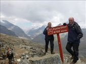 We made it to Punta Union at 4760m.: by steve_and_emma, Views[261]
