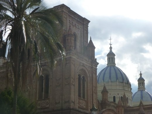 The cathedral in Cuenca.
