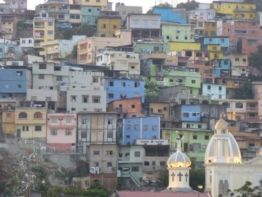 The Las Penas barrio.