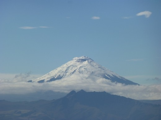 Infact the view of Cotapaxi was better than the day before when we were in the national park!