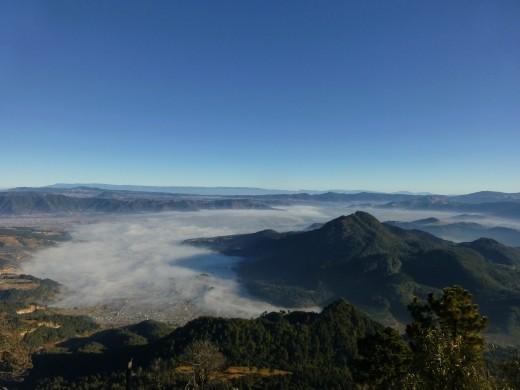 The view from Santa Maria.