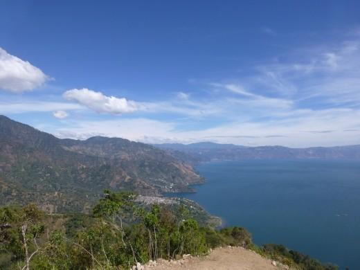 Lake Atitlan is a stunning spot.