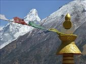 Ama Dablam mountain (6814m) in the background.: by steve_and_emma, Views[223]