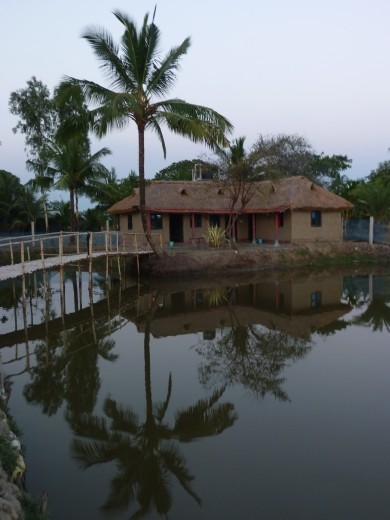 The digs at the eco village were pretty good.