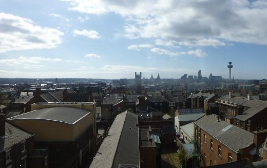 The do was in the Hope Street Hotel which afforded great views of Liverpool.