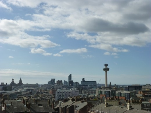 I can't believe that Liverpool actually looked nice from up here. had a couple of liveners by then mind.
