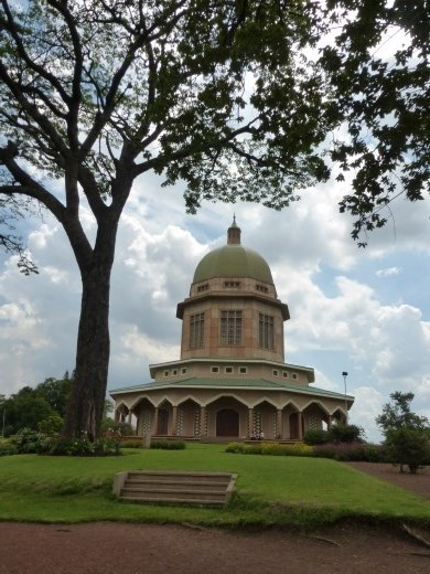 This is the only Bahai Temple in Africa.