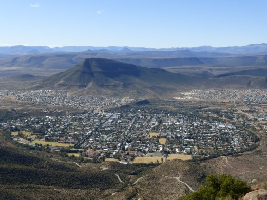 The town of Graaf Reinet is surrounded by Camdeboo NP.