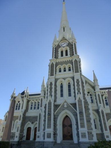 The church in historical Graaf Reinet.