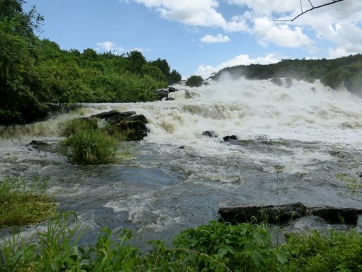 We stopped off at Karuma falls on the way to the northern side of Murchison Falls NP.