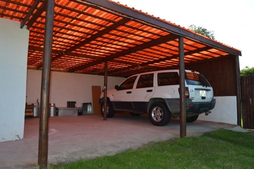 This car port area will eventually be turned into 2 b & b rooms if all goes well.