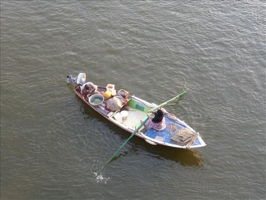 Last boat to Cairo.