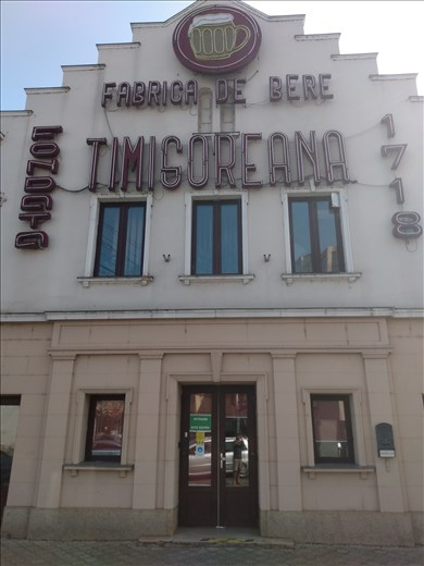 Timisoreana Brewery, the oldest in Romania, founded in 1718.