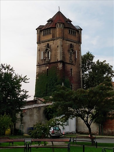 An old water tower.