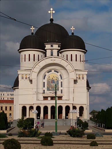The New Orthodox cathedral.