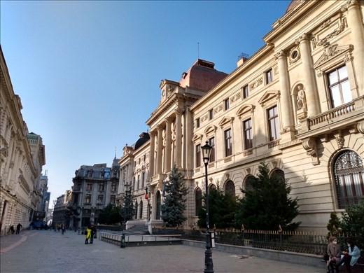 Strada Lipscani, Old town Bucharest.