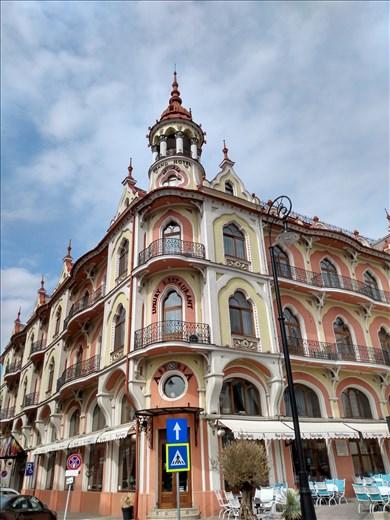 Astoria Grand Hotel, our home in Oradea.
