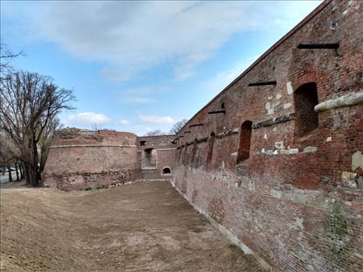 The old citadel walls.