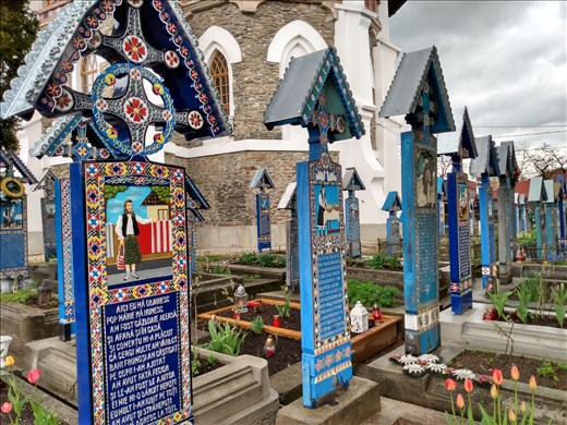 The 'Merry Cemetery' Sapanta.