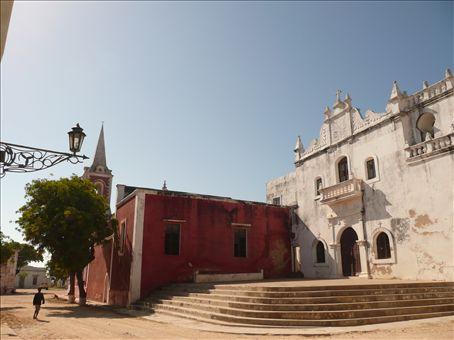 ilha do mocambique - world heritage site (unfortunately quite run down)