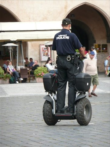 the czech police force is even more modern than the polish one...