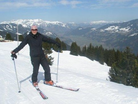 spring-time skiing