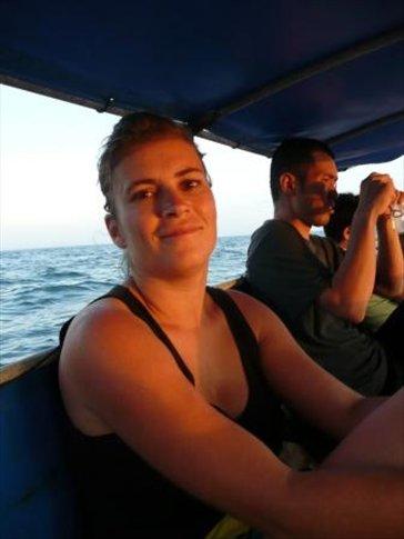 taking a cruise on the andaman sea