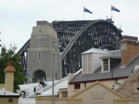 the rocks and sydney harbour bridge
