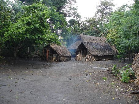 Remote Yakel village, where the locals have remained living their traditional lifestyle