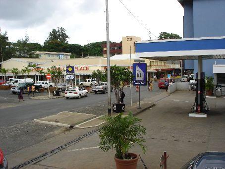 Part of main street of Port Vila