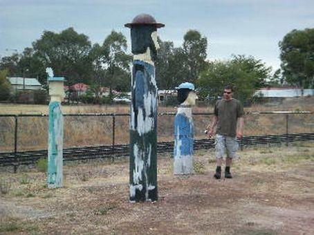 More unexplained stump people in Glenrowan, Victoria