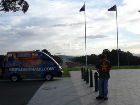 Canberra, from Australian War Memorial