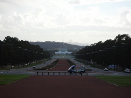 Canberra, from Australian War Memorial