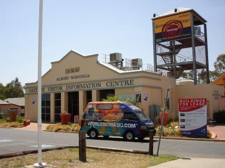 Very helpful Tourist Information at Albury/Wodonga