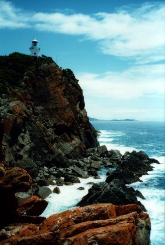 Lighthouse at Treachery Head, NSW
