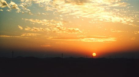 Sunset in the Sinai