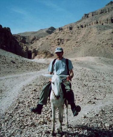 Out on my ass in the valley of the kings