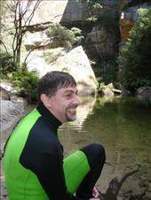 Wollangambe canyon after 1km swim upstream: by stowaway, Views[559]