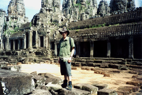 An Indiana Jones moment outside Bayon