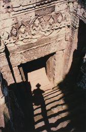 An Indiana Jones moment at Bayon: by stowaway, Views[853]