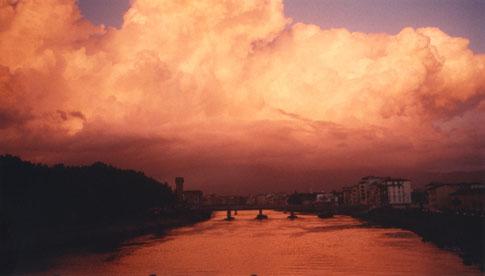 Piza sunset