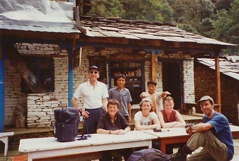 Lodge on Annapurna trek
